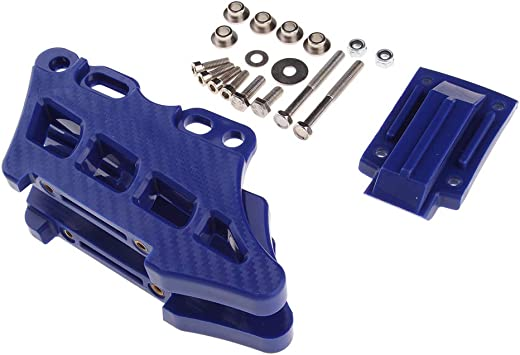 Blue Baoblaze Motorcycle Rear Chain Guide Guard for Yamaha YZ125 YZ250 1997-2017