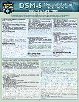 Dsm 5 Medical Coding: A Quickstudy Reference Tool: Elizabeth