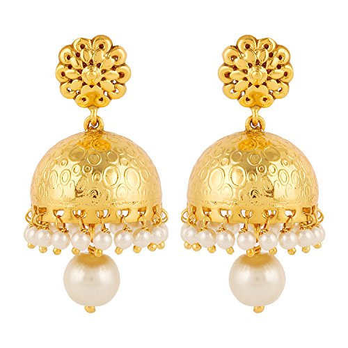 Adwitiya-Collection-24K-Gold-Plated-Contemporary-Jhumki-Earring-for-Women