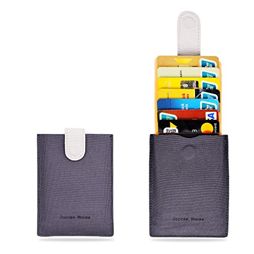 RFID Minimalist Slim Wallets - Credit Card Holder Front Pocket Wallet for Men Women