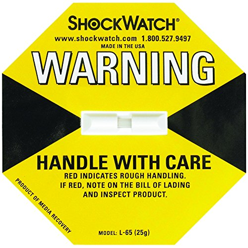ShockWatch SHW25 25G Indicators (Pack of 50)