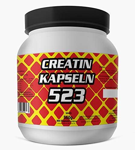 Creatine Mega 523 900 Kapseln Creatin Caps Dose Kreatin Monohydrat