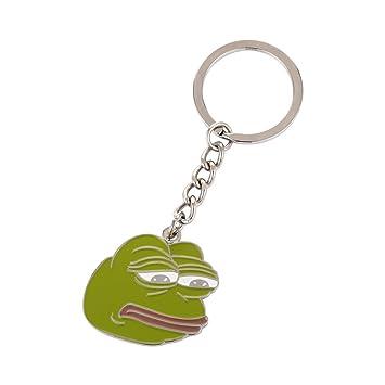 Internet Meme Pepe el llavero de rana: Amazon.es: Equipaje