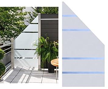Sichtschutz Glas Anschluss Alpha 180 90x90cm Rechts Satiniert Mit 4