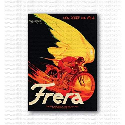 Frera Italian Motorcycle Vintage Codognato Repro Poster (20in x 14in) (Codognato Poster)