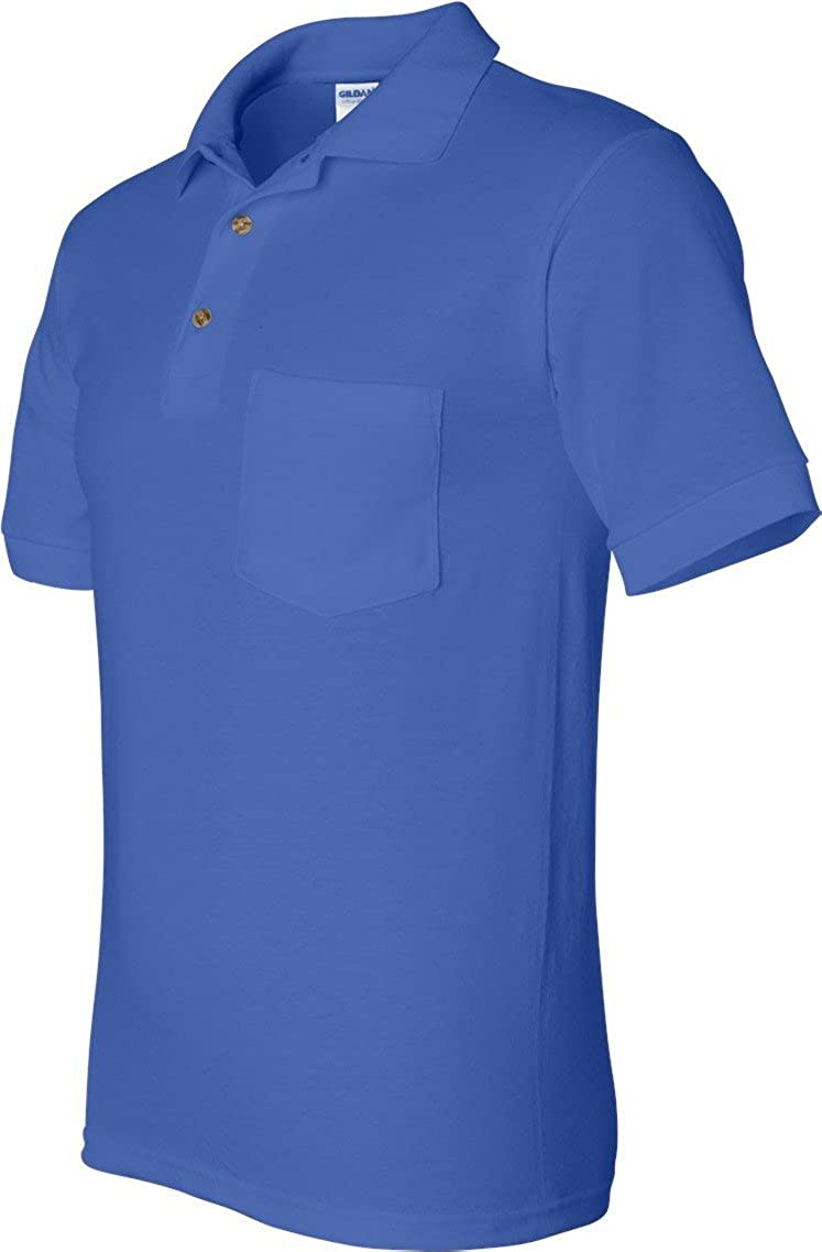 Gildan 56 Oz Ultra Blend 5050 Jersey Polo With Pocket At Amazon