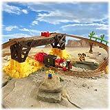 remote control buzz lightyear - Fisher-Price GeoTrax Disney/Pixar Toy Story 3 Remote Control Exploding Bridge Train Set