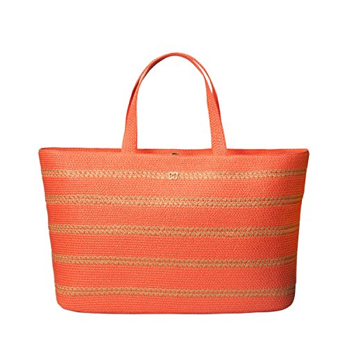Eric Javits Stripe (Eric Javits Luxury Fashion Designer Women's Handbag - Sinclair Tote - Spark)