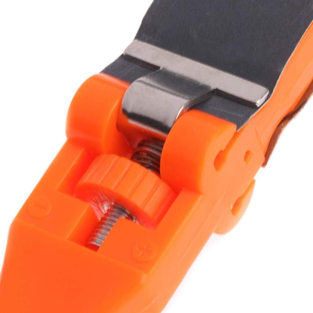 Orange dailymall Jewellers Emery Sticks Tools Jewelry Metalsmith Polishing Grit Stick Handle 27x1.8cm