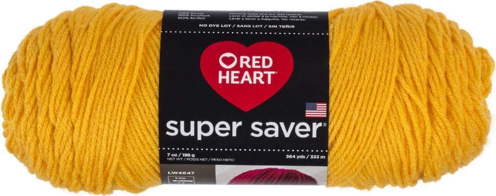Red Heart E300b 0234 Super Saver Yarn Saffron Biscotts Com