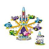 LOZ Building Block Sets Amusement Park DIY Miniature Handmade Dollhouse Kit Space Ride,Building Construction Toy Birthday Gift