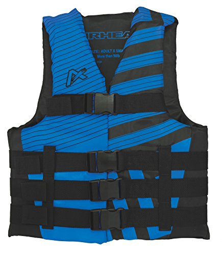 AIRHEAD TREND Vest, Men's, Black/Blue, Large/X-Large