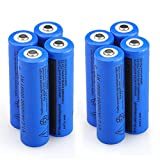 WishDeal 18650 Battery 5000 mAh 3.7V Battery Rechargeable Battery for LED Flashlight (Not AA OR AAA BATTERY)