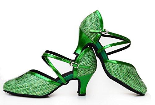 Verde Green Joymod MGM Donna Caviglia Cinturino 35 alla Heel 6cm pgx4X4q