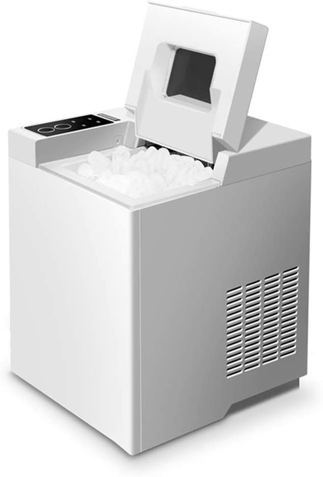 XHCP Ice Maker Machine, 6-8 Minutes Rapid Ice Making, Fully Automatic Desktop Hoehold Ice Machine,15kg Ice Make,Icemaker,No Pipe Required.