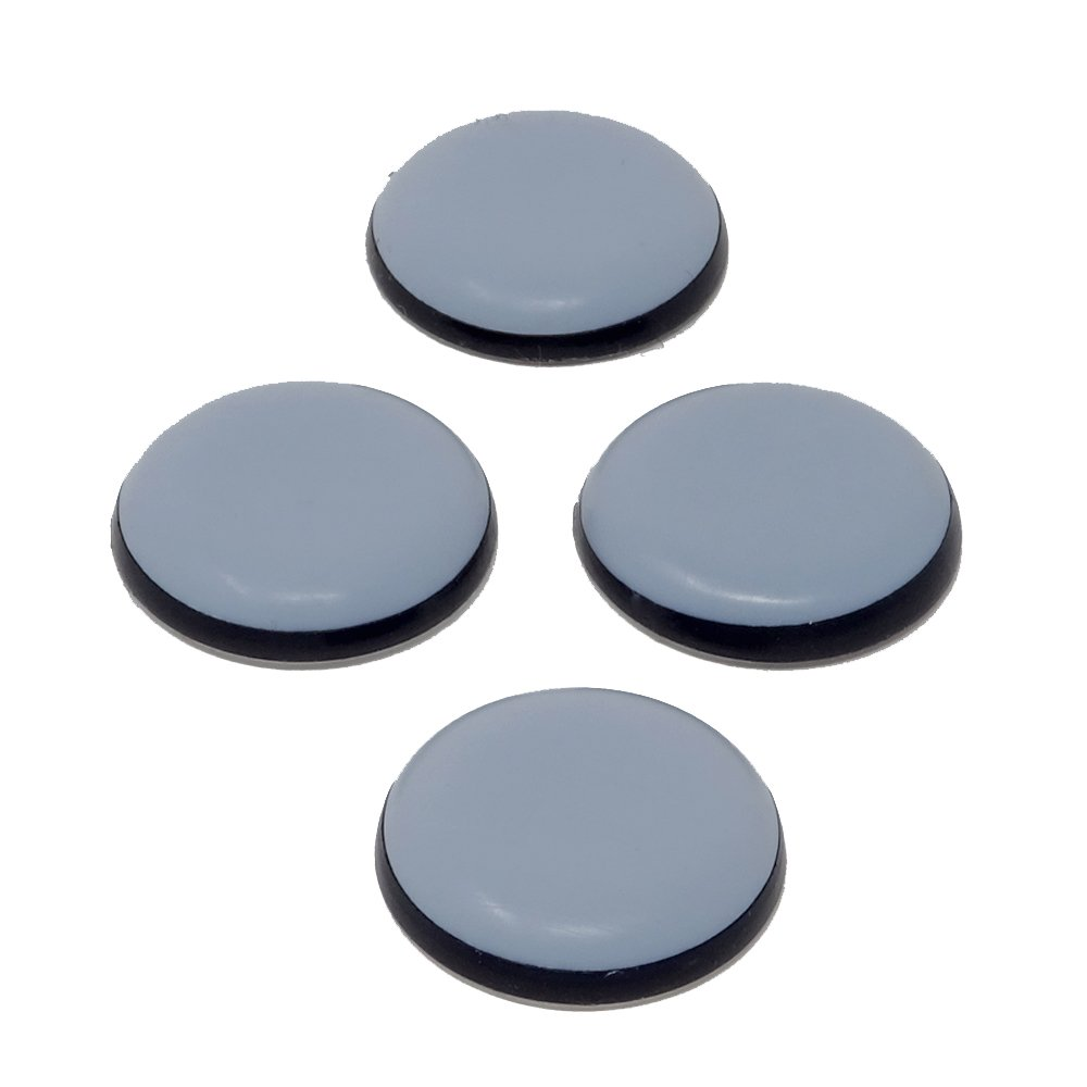 SBS Lot | autocollantes | Ø 30 mm | Lot de 4 | PTFE Patins laflon SuperG échelle Meubles patins en téflon