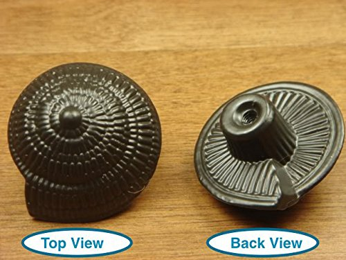 Sonoma Cabinet Hardware Nautical Sea Shell Sundial Seashell Knob Oil Rubbed Bronze- Marine Sea Lfe NEW Kitchen Custom Knobs Cottage Nautical ()