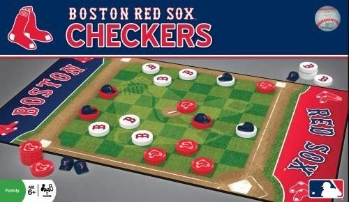 MasterPieces MLB Boston Red Sox Checkers Board Game]()