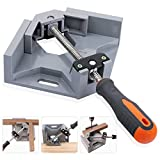 PGCOKO Right Angle Clamp 90 Degree Corner Clamp Adjustable Bench Vise Tool for Woodworking Welding Doweling Aquarium Cabinet Frame Water Tank
