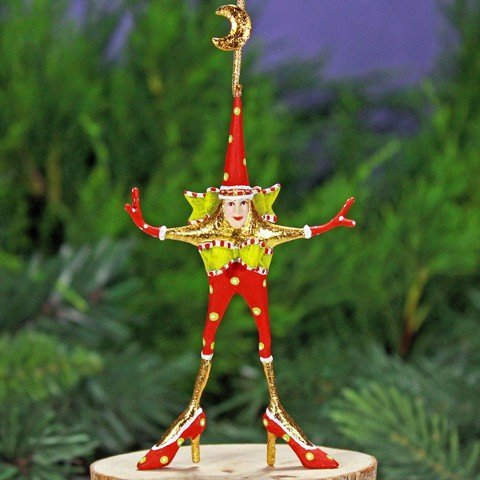 Patience Brewster Mini Star Woman Christmas Ornament 08-30953 Mini Star Ornament