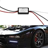iJDMTOY (1) LED Daytime Running Light Automatic On/Off Switch Controller Module Box (Enable DRL Turn On When Engine Starts)