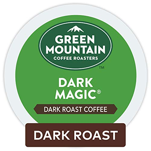 - Green Mountain Coffee Roasters Dark Magic Keurig Single-Serve K-Cup Pods, Dark Roast Coffee, 12 Count, Pack of 6