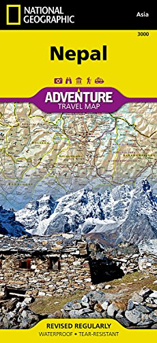 Nepal (National Geographic Adventure Map)