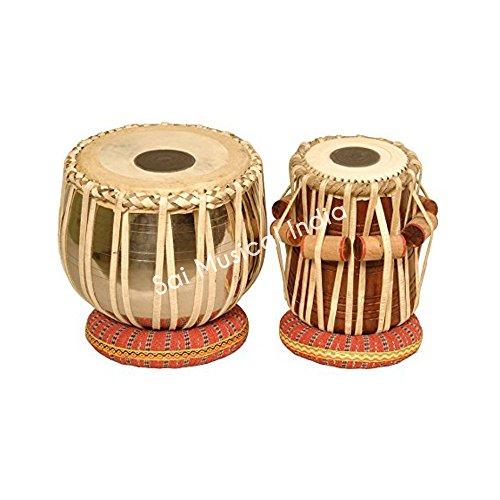 Queen Brass Tabla Set, Professional, 5.75'' Dayan by Queen Brass