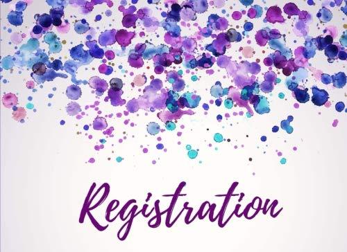 - Registration: Open House Sign In Registry - Real Estate Agent Guest Book - Visitors Signature & Registration Book - Show Homes, Property Developers & Interior Designers