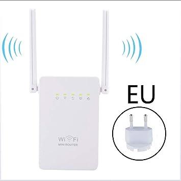 HUIJIN1 Extensor de Rango WiFi 300Mbps Repetidor inalámbrico ...