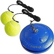 MORWIN Tennis Trainer Rebound Ball Iron Base Tennis Training Tool   Great for Singles Training   Tennis Practi