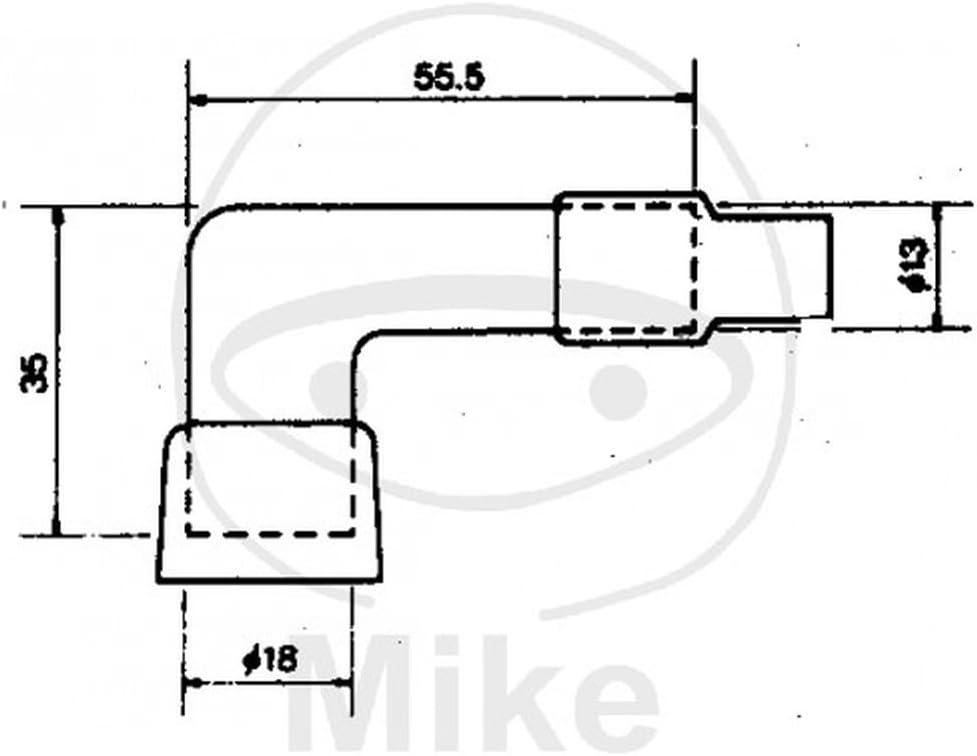 NGK 8358 Z/ündkerzenstecker Anzahl 1