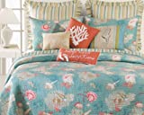 Santa Catalina 4-Piece King Quilt Set