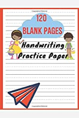 Handwriting Practice Paper: Writing Paper For First Graders   Learn To Write Letters With Dotted Lined Sheets Paperback