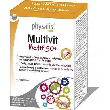 Physalis - Multivit Actif 50+ - 4725-30caps-Physalis