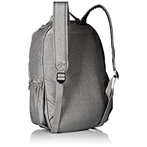 Seoul L Solid Laptop Backpack, Silver Glimmer Metallic