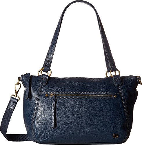 The Sak Women's Carson Leather Satchel Indigo One Size by The Sak
