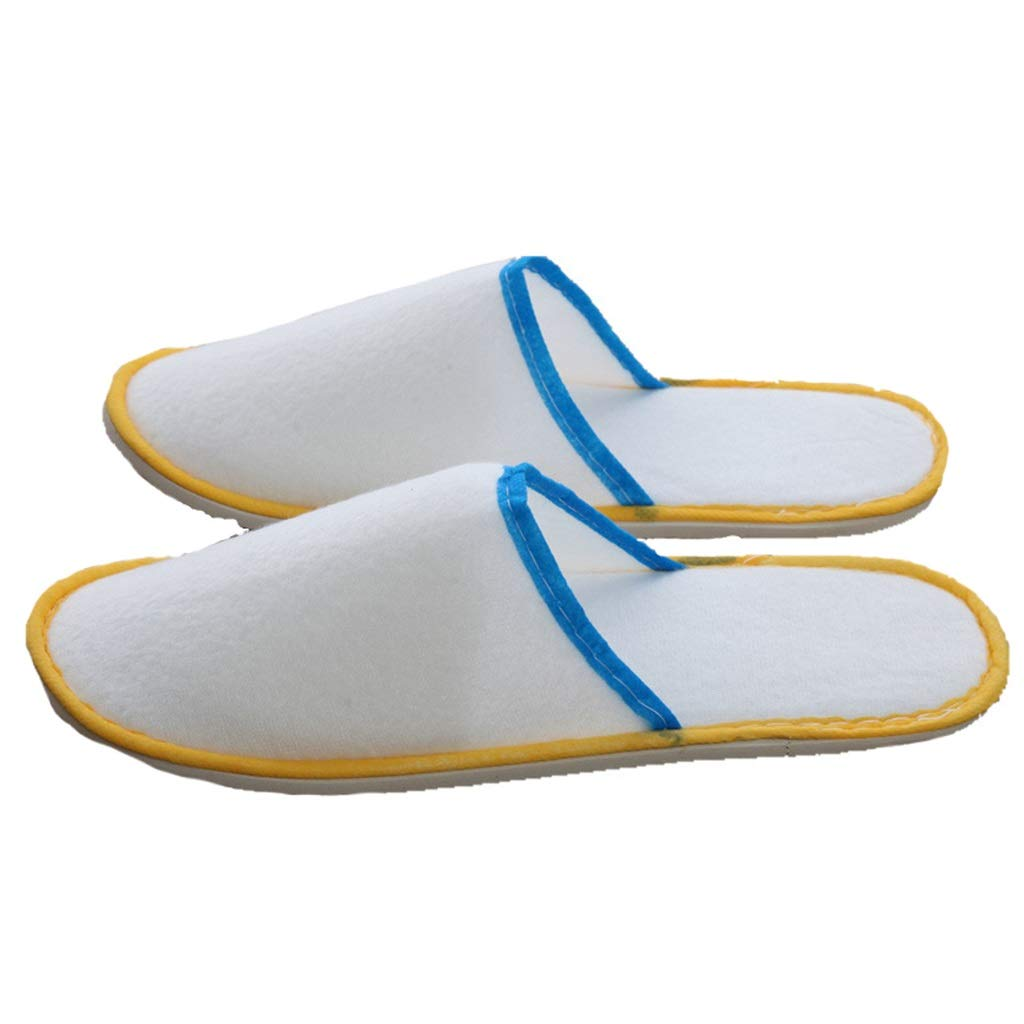 50 Pairs Slipper, Disposable, Spa shoes, Unisex Non-Slip Comfortable for Home, Hotel, Bathroom
