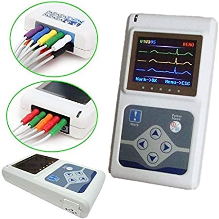 SISHUINIANHUA TLC9803 Holter 3 Canales CONTEC