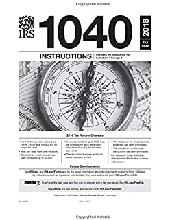 1040 booklet 2018