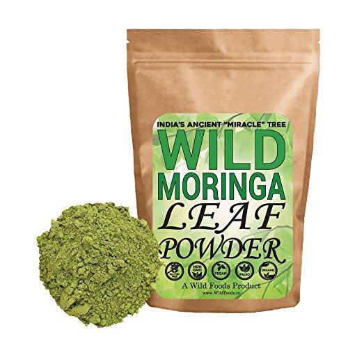 photo Wallpaper of Wild Foods-Wild Foods Moringa Leaf Powder, Raw Organic Single Origin Moringa Leaf From India (4-