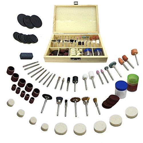 Gunpla 100pcs Rotary Tool Accessories Drilling Sawing Sanding Grinding...