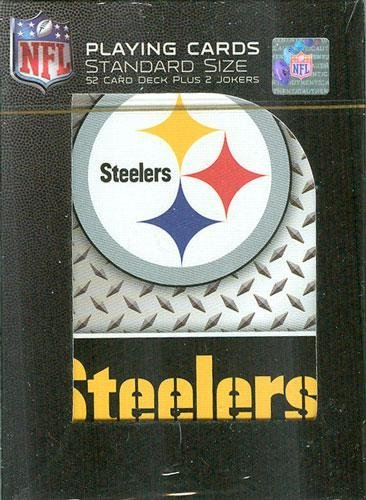 Pittsburgh Steelers Diamond Plate Playing Cards from SteelerMania