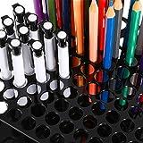 2 Sets 96 Hole Pencil Brush Holder Acrylic Pen