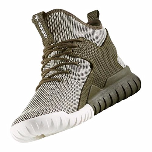 Adidas Man Rörformig X Basketsko Glöd-in-the-mörker / Camo
