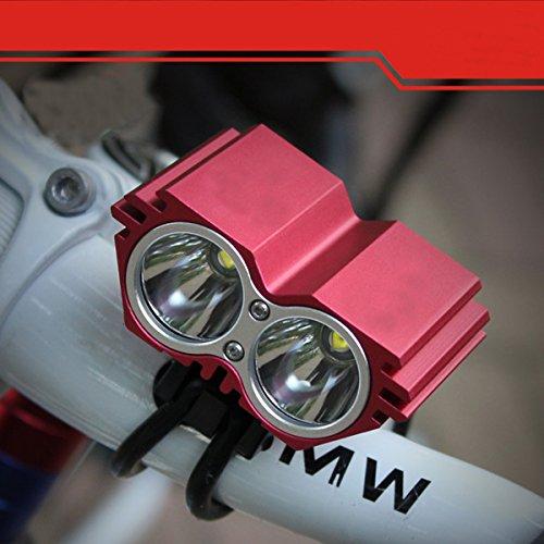 Faros X2 Coches Red De Equipo Búho Luces Ciclismo Xnrhh Equitación Bicicleta Luz Montaña aqzzC