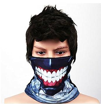 Vivian Tokyo Ghoul Kaneki Ken Cosplay Máscara Bufanda