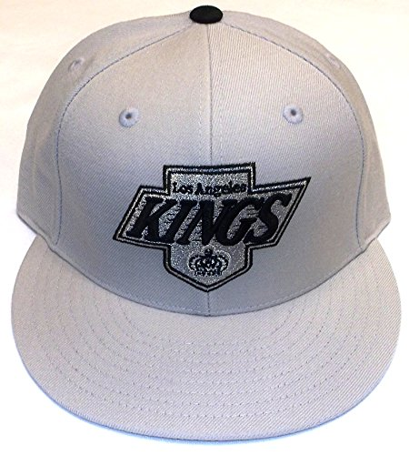 Los Angeles Kings Fitted Mitchell & Ness Hat - 7 1/8 - TK41K