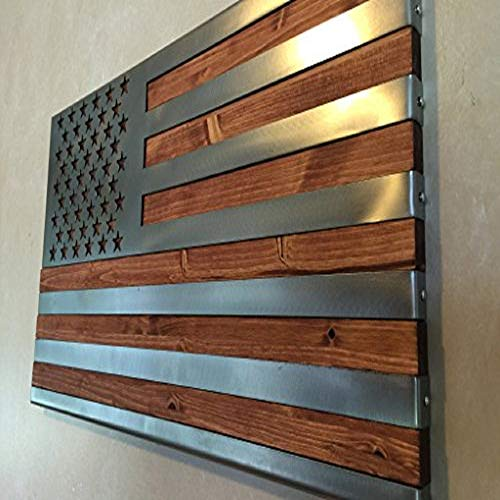 Metal Art of Wisconsin Metal Art US Flag Metal , Patriotic Wall