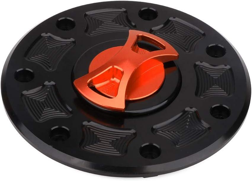 Moto gaz du r/éservoir de carburant Cap CNC billet sans cl/é Twist Off pour Kawasaki Zx9r Zx7r Zx6r Zxr250 Zxr400 Zxr750 Zx11 Zx1100 Zzr1100 Zx600 ZR400 EX400 Ex250 /× Ninja 250R